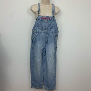 Vtg gap denim wide leg overalls Lightwash  W Small